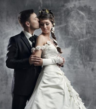 Suknia ślubna satyna